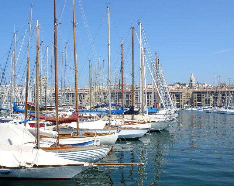 フランスの港